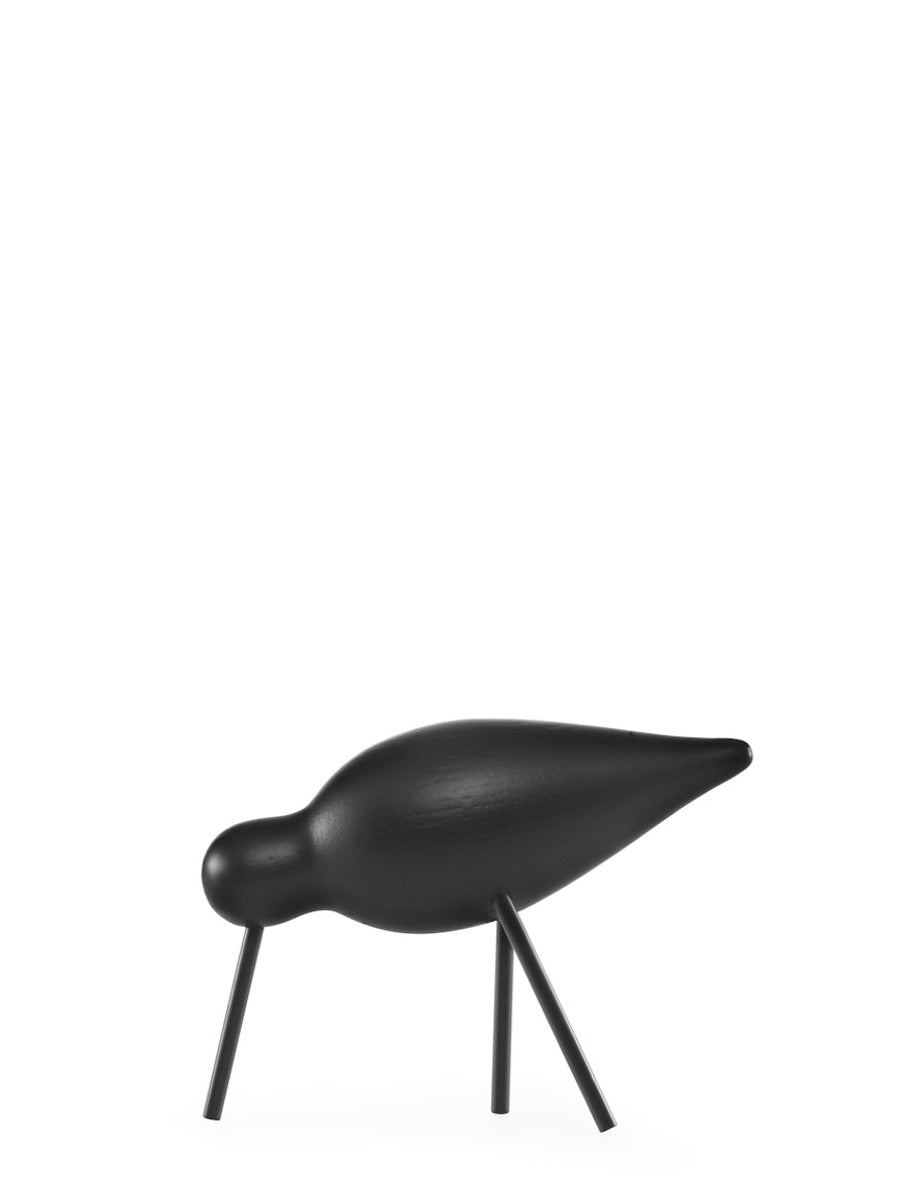 Normann Copenhagen Medium Shorebird Black - Cloudberry Living