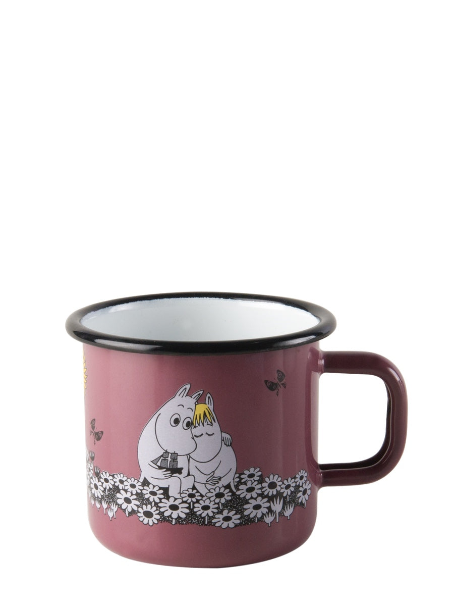 Muurla Moomin Enamel Mug Together Forever 3.7dl - Cloudberry Living