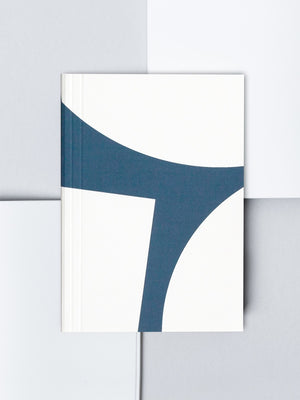 Ola Studio A6 Limited Edition Layflat Pocket Notebook Plain Pages Blocks Print Blue