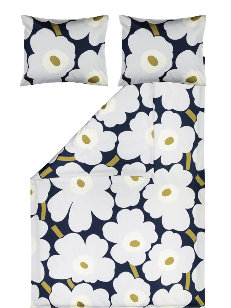 Marimekko Unikko Kingsize  Duvet Cover & Two Pillowcases - Cloudberry Living