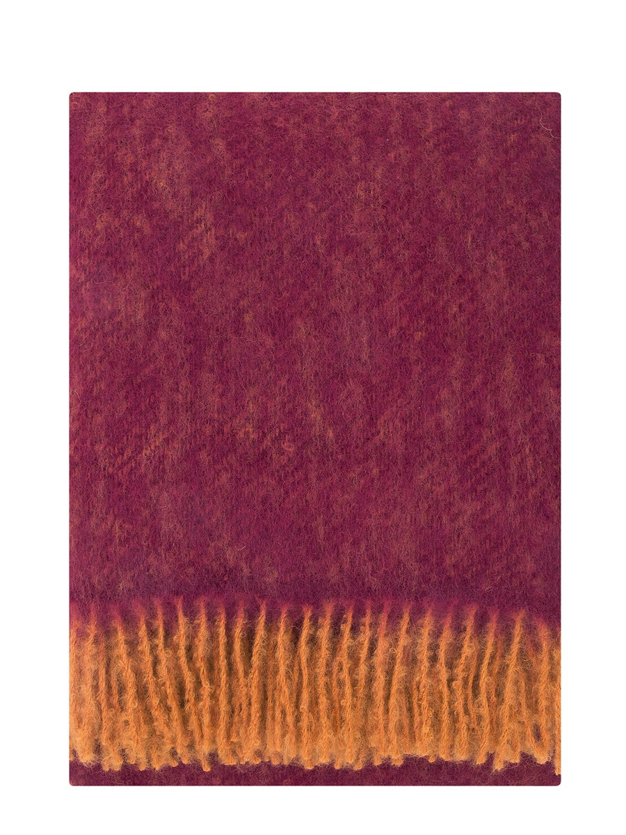 Lapuan Kankurit Revontuli Mohair Blanket Bordeaux - Cloudberry Living