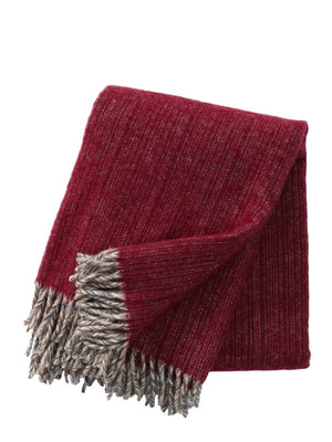 Klippan Bjork Lambs Wool Throws - Cloudberry Living