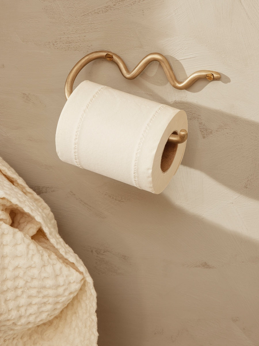 Ferm Living Curvature Toilet Paper Holder - Cloudberry Living