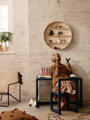 Ferm Living Round Dorm Shelf - Cloudberry Living