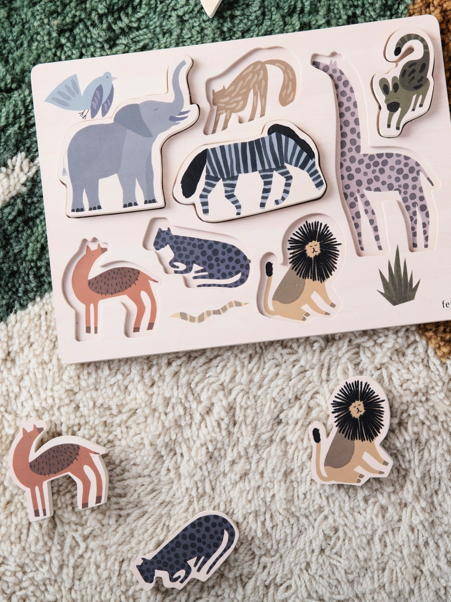 Ferm Living Safari Puzzle - Cloudberry Living