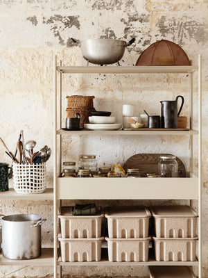 Ferm Living Punctual Shelving System Cashmere - Cloudberry Living