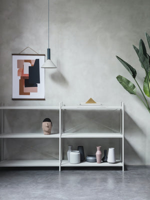 Ferm Living Punctual Shelving System Light Grey - Cloudberry Living
