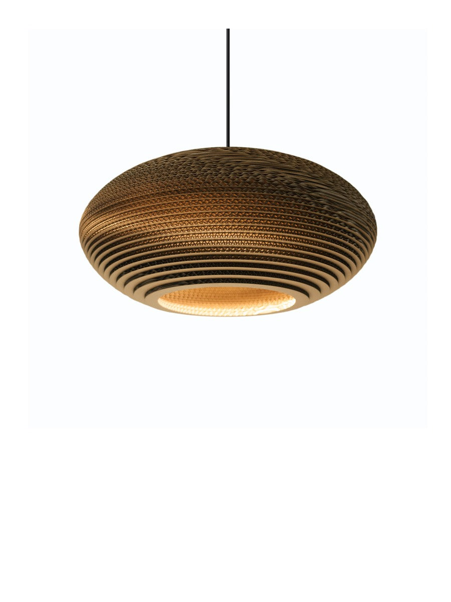 Graypants Scraplight Disc Pendant Natural - Cloudberry Living