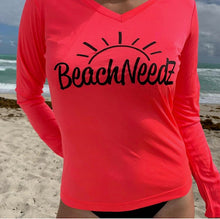 Load image into Gallery viewer, Beach NeedZ Sun Shirt (Female)