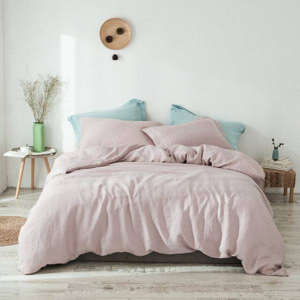 100% Linen Bedding Set (3 Pieces)