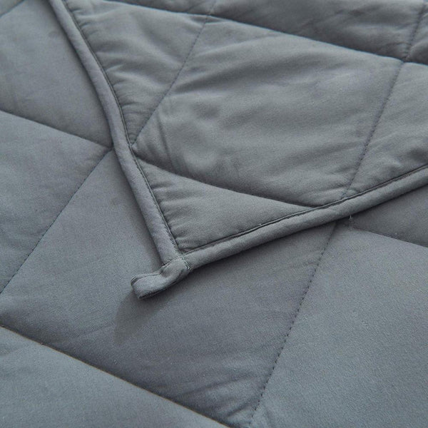 Cotton Weighted Blanket with Glass Beads