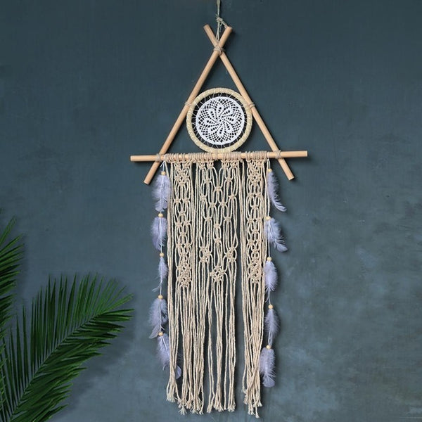Macrame Boho Chic Dreamcatcher (Vegan)
