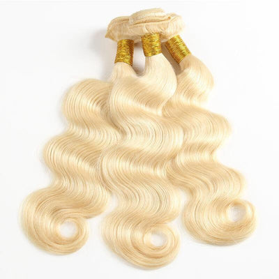 1 Bundle Brazilian Hair #613 Color body wave-Kefi Hair Company