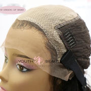 Glueless Pre-Made Fake Scalp Lace Front Wigs-Kefi Hair Company