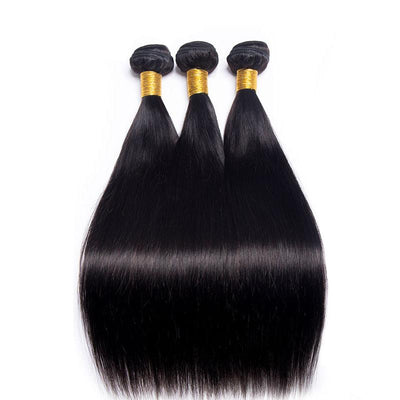 3 Bundle Straight Brazilian Hair-Kefi Hair Company