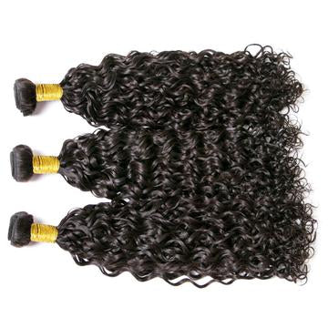 3 Bundle Water Wave Brazilian Hair-Kefi Hair Company
