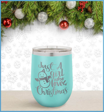 Load image into Gallery viewer, Christmas Tumbler: Just A Girl Who Loves Christmas
