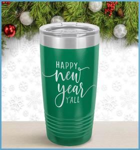 New Year's Tumbler: Happy New Year Y'All
