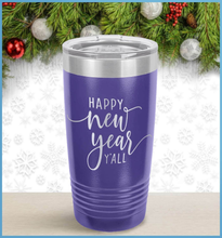 Load image into Gallery viewer, New Year's Tumbler: Happy New Year Y'All