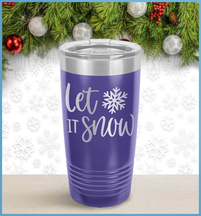 Christmas Tumbler: Let It Snow