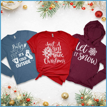 Load image into Gallery viewer, Brooke & Belle: T-Shirt, Long Sleeve and Hoodie Christmas Bundle (C)