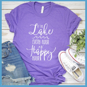 At The Lake Every Hour Is Happy Hour T-Shirt