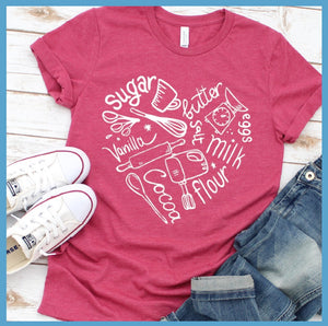 Bakery Heart T Shirt