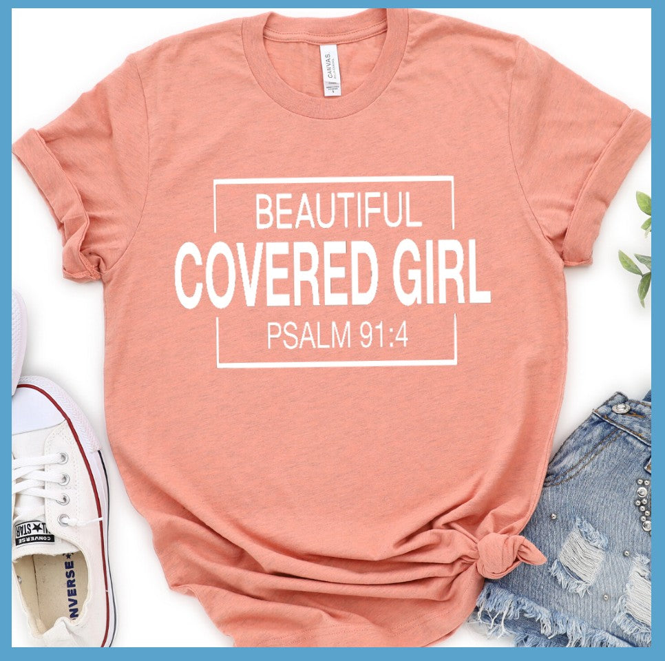 Beautiful Covered Girl T-Shirt