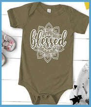 Load image into Gallery viewer, Blessed Mandala Onesie