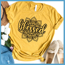 Load image into Gallery viewer, Blessed Mandala T-Shirt
