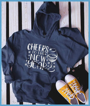 Load image into Gallery viewer, Cheers To The New Year Hoodie