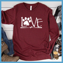 Load image into Gallery viewer, Dog Love Long Sleeves