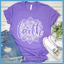 Load image into Gallery viewer, Faith Mandala T-Shirt