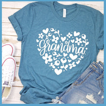 Load image into Gallery viewer, Grandma Heart T-Shirt