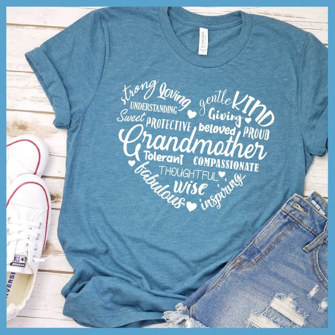 Grandmother Heart T-Shirt