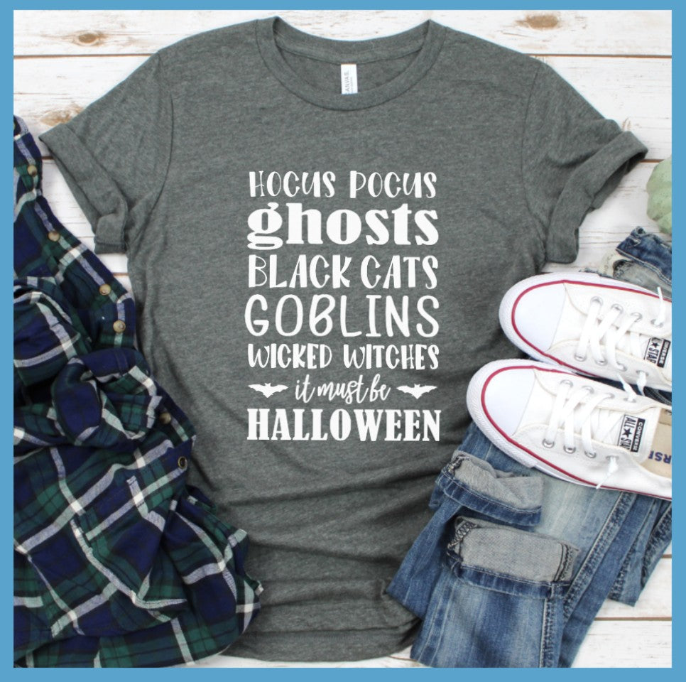 Halloween Words T-Shirt