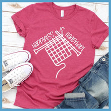 Load image into Gallery viewer, Happiness Is Handmade T-Shirt