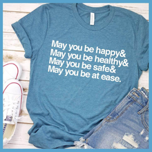 Load image into Gallery viewer, May You Be Happy Ampersand T-Shirt