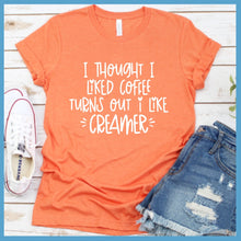 Load image into Gallery viewer, Creamer T-Shirt
