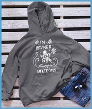 Load image into Gallery viewer, I'm Having A Meltdown Hoodie