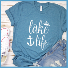 Load image into Gallery viewer, Lake Life Version 2 T-Shirt