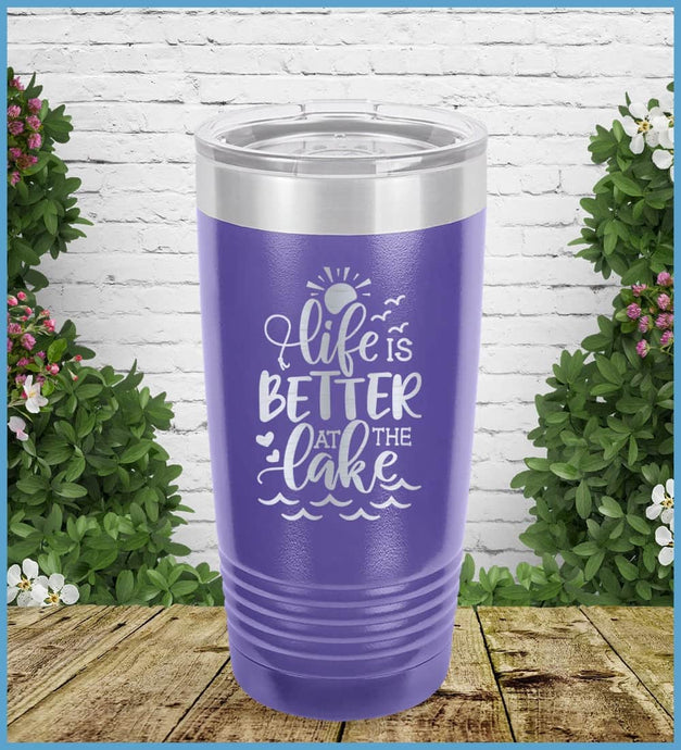 Life Is Better At The Lake Tumbler