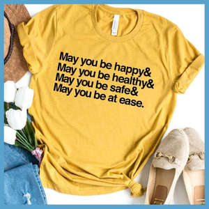 May You Be Happy Ampersand T-Shirt