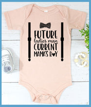 Load image into Gallery viewer, Mama's Boy Onesie