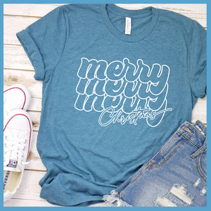 Merry Christmas Retro T-Shirt