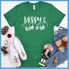 Load image into Gallery viewer, Merry Bright Lights T-Shirt