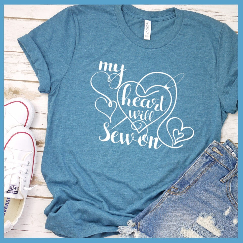 My Heart Will Sew On T Shirt