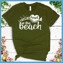 Load image into Gallery viewer, I Left My Heart At The Beach T-Shirt
