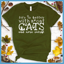 Load image into Gallery viewer, More Cats T-Shirt
