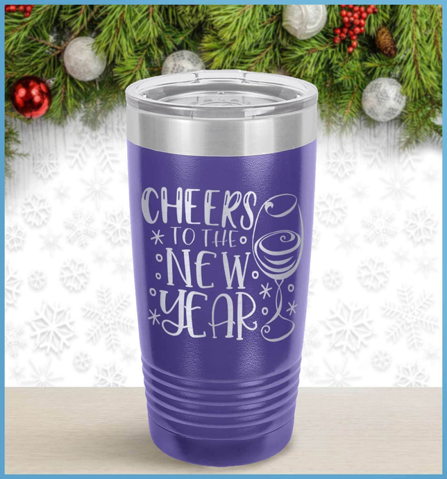 New Year's Tumbler: Cheers To The New Year!